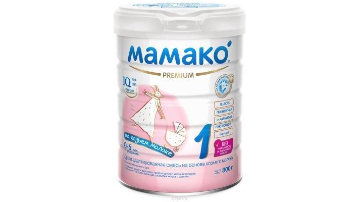 Молочная смесь [Мамако Premium на основе козьего молока]