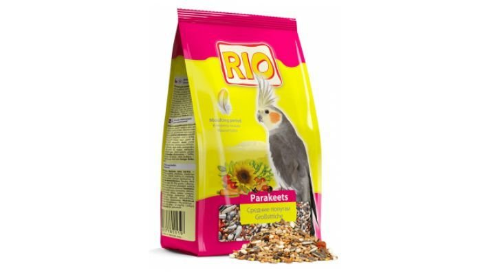 Rio [корм в период линьки, д/средн. попугаев, 500 гр.]