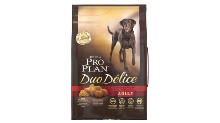 Pro Plan Duo Delice Adult [д/собак, говядина/рис, 700 гр.]