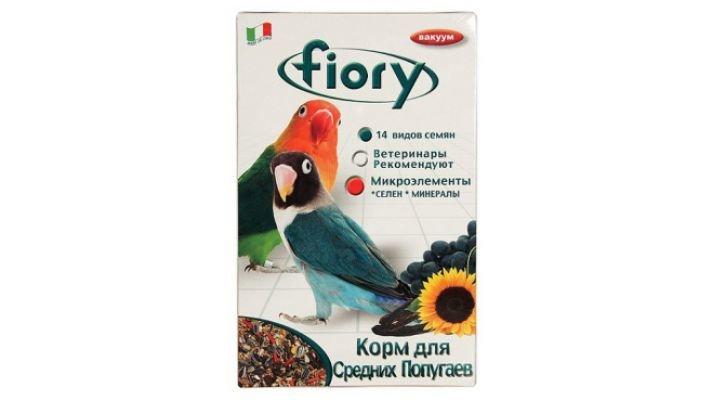Fiory [ корм д/средних попугаев Parrocchetti Africa, 800 гр.]