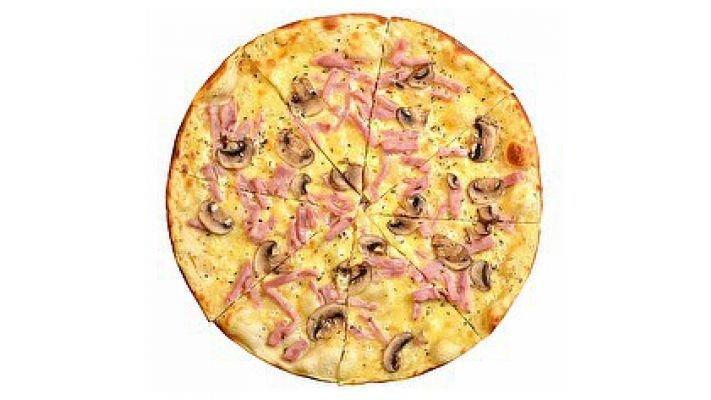 Пицца [Альфредо, 1 кусок]