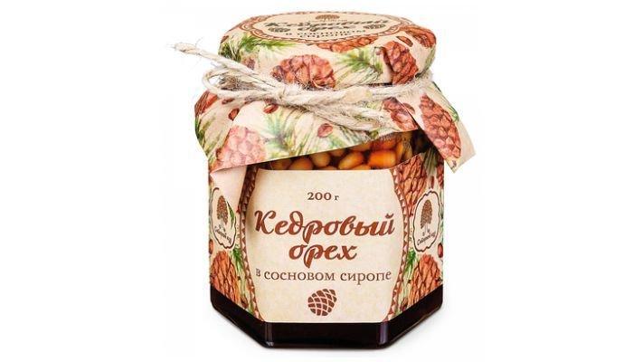 Ядро кедрового ореха [в сосновом сиропе, 200 гр.]