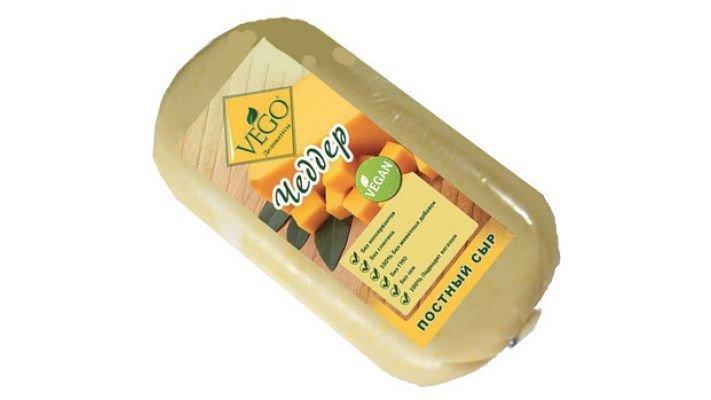 Сыр [Чеддер постный, 400 гр.]