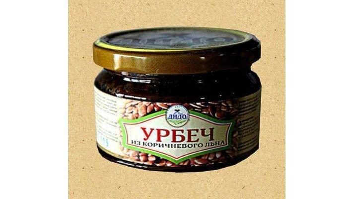 Урбеч-паста [из коричневого льна, 270 гр.]