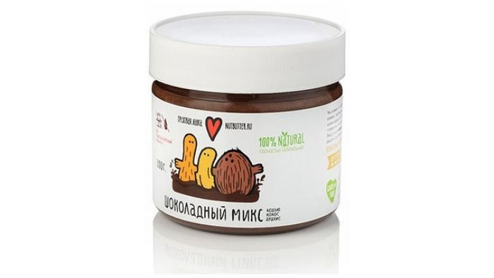 Шоколадный ореховый микс [кешью, кокос, арахис 300 гр.]