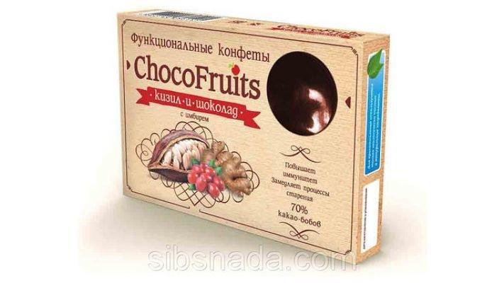 Конфеты [ChocoFruits - Кизил и Шоколад]