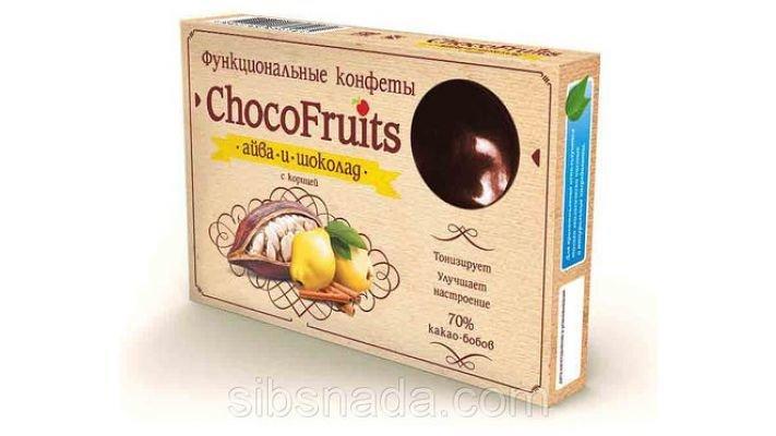 Конфеты [ChocoFruits - Айва и Шоколад 90 гр.]