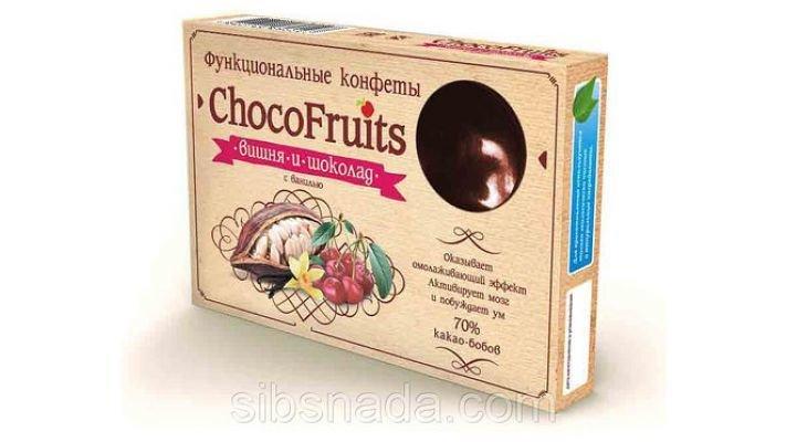 Конфеты [ChocoFruits - Вишня и шоколад]