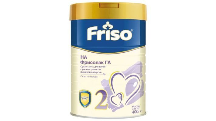 Молочная смесь [Friso Фрисолак ГА 2 с 6 месяцев, 400 г, 1 шт.]