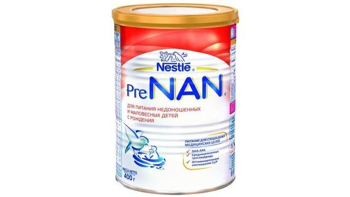 Молочная смесь [Nan PreNAN для недоношенных и маловесных детей с рождения]