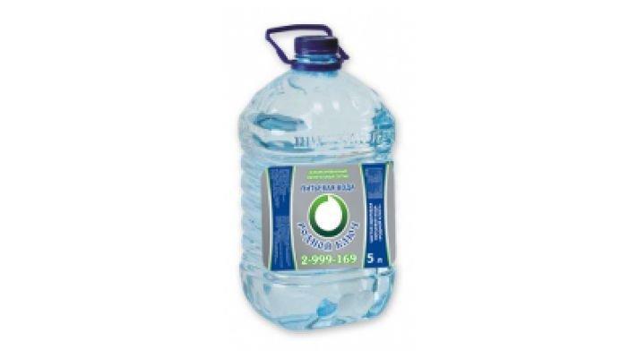 Вода очищенная [Родной ключ, 5 л.]