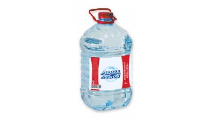 Вода [Аквагелиос структурированная, 5 л.]