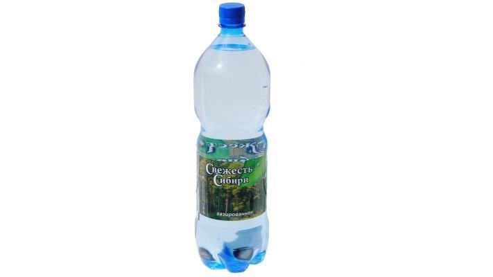 Вода [Свежесть Сибири/газированная, 1,5 л.]