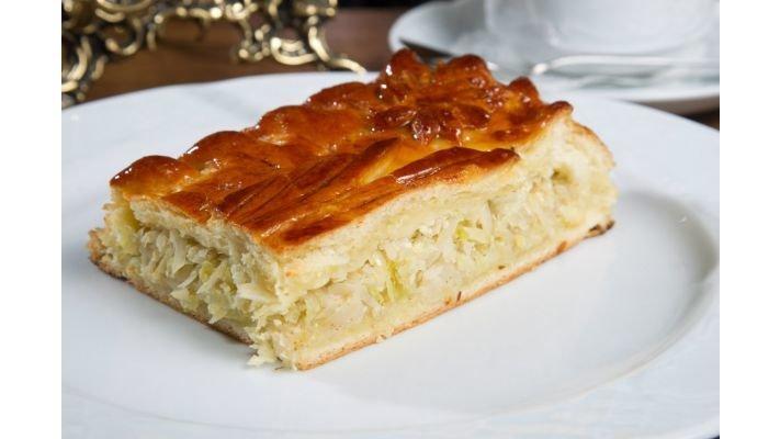 Пирог [с капустой, 1000 гр.]