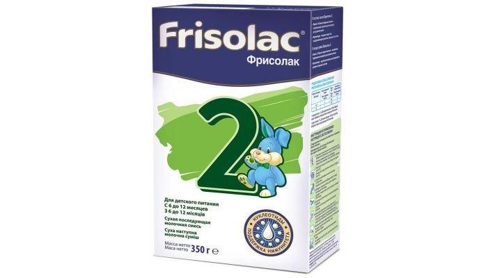Заменитель молока [Friso Фрисолак 2 с 6 месяцев, 350 г, 1 шт.]