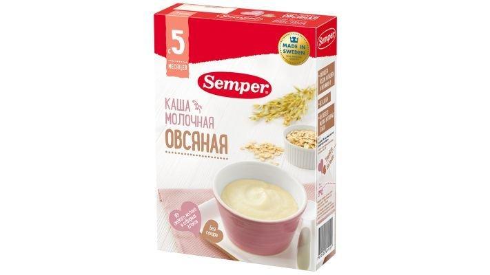 Каша [Semper молочная Овсяная]