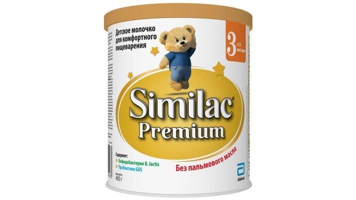 Молочко детское [Similac Premium 3 с 12 месяцев, 400 г, 1 шт.]