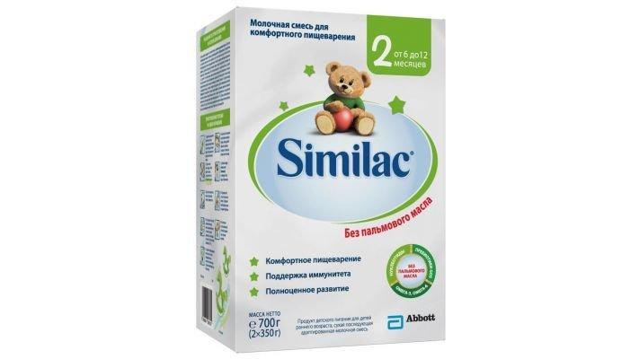 Молочная смесь [Similac 2 6-12 месяцев, 700 г, 1 шт.]