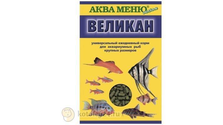 """Корм [Аква-меню """"Великан"""", 35 гр.]"""