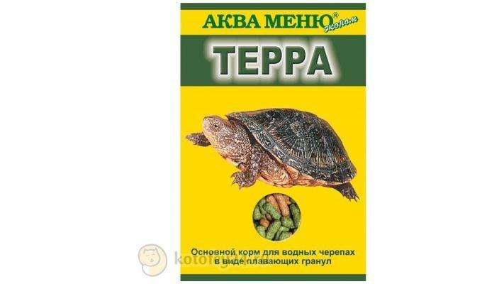"Корм [Аква-меню ""Терра"", 15 гр.]"