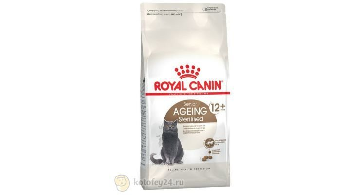 Корм [Royal Canin Ageing Sterilised 12+, 400 гр.]