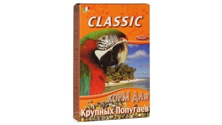 Корм [Fiory Classic Parrot для крупных попугаев, 600 гр.]
