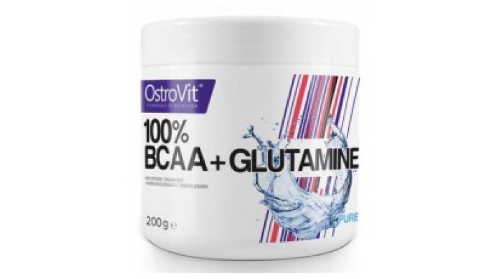 Ostrovit BCAA +GLUTAMINE[, 200 гр.]