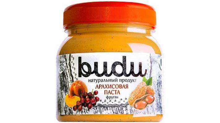 """Арахисовая паста [Budu """"Фрутти"""" 250 гр.]"""