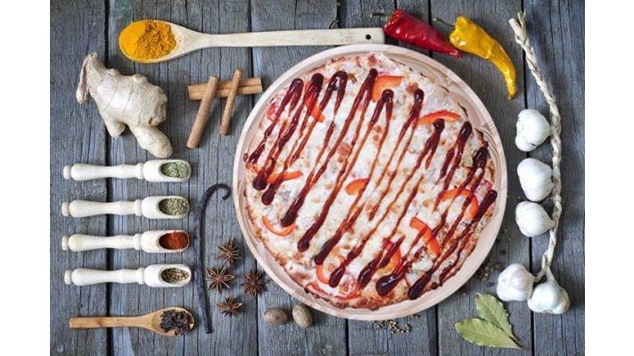 Пицца [Курочка барбекю, 24 см.]