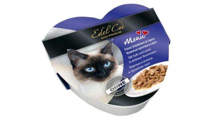 Edel Cat [Телятина и ягненок в грушевом соусе, 85 гр.]
