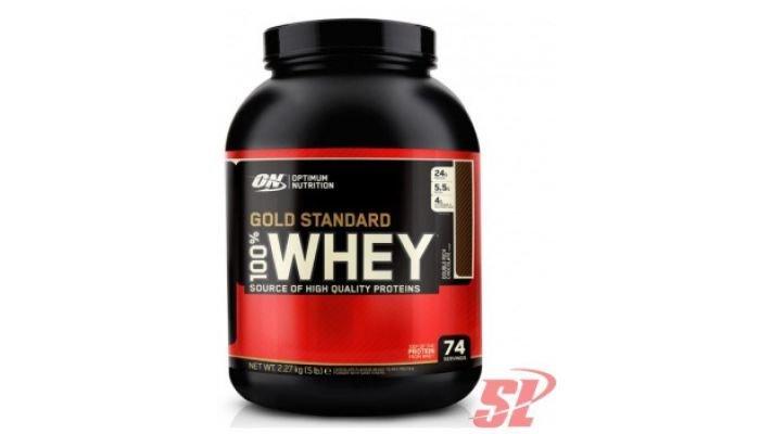 100% Whey Protein Gold Standard 2270 g Optimum Nutrition