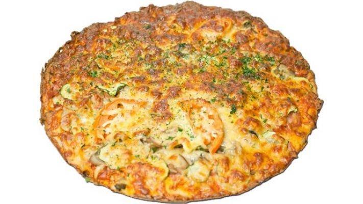 Пицца [Вегетарианская с брокколи, 1 кусок]