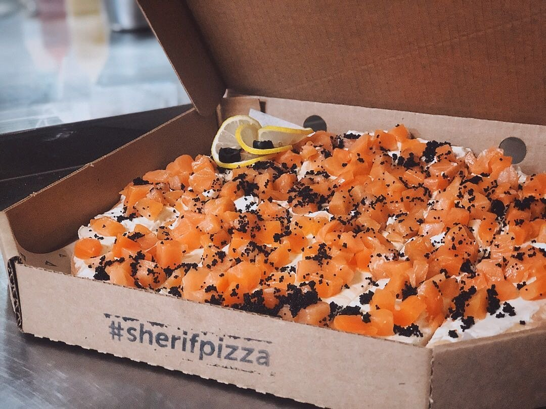 """""""Холодная"""" пицца Филадельфия (35см)"""