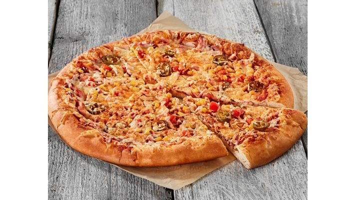Пицца [Острая халапеньо ]