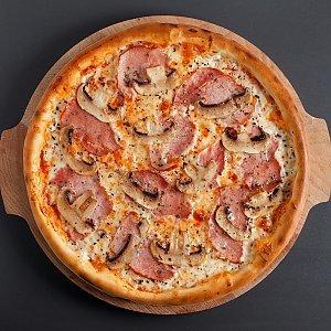Пицца Ветчина-грибы 24 см