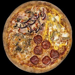 Пицца 4 сезона 480г.