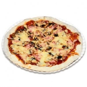 Пицца Ветчина и Грибы 525гр.
