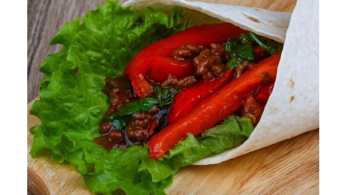 Гирос вегетарианский