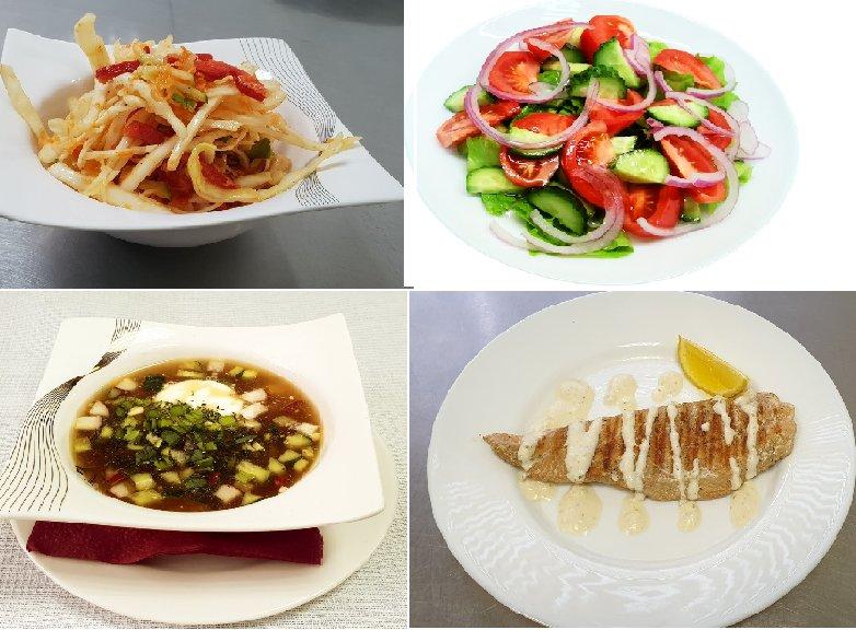 комплексный обед за 250.00 АКЦИЯ