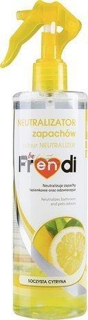 """Нейтрализатор запаха """"be Frendi"""" 400мл Сочный лимон (запаха ванной)"""