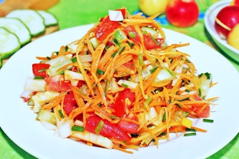Салат капуста с морковью 100гр