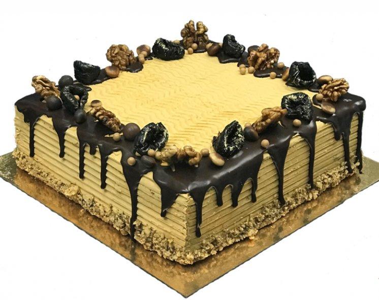 Торт [Пинчер с черносливом и грец. орехом]
