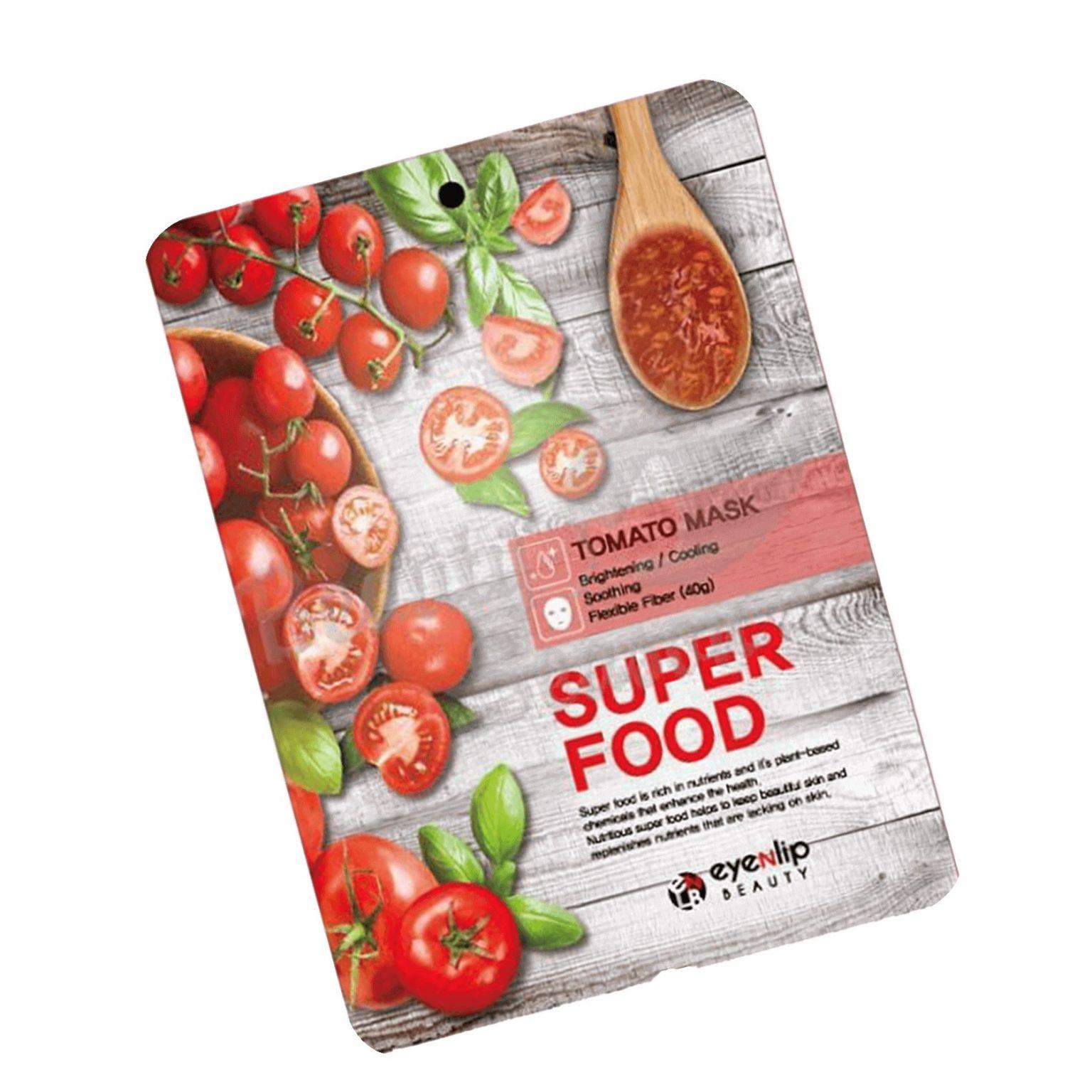 Тканевая Маска для лица EYENLIP SUPER FOOD TOMATO 1шт.