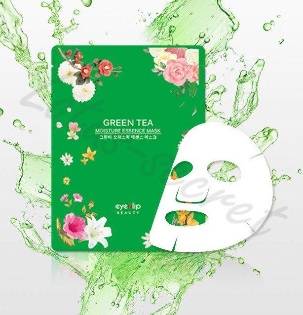 Тканевая Маска для лица EYENLIP Зеленый чай 1шт.