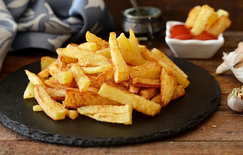 Картошка фри 180гр + соус