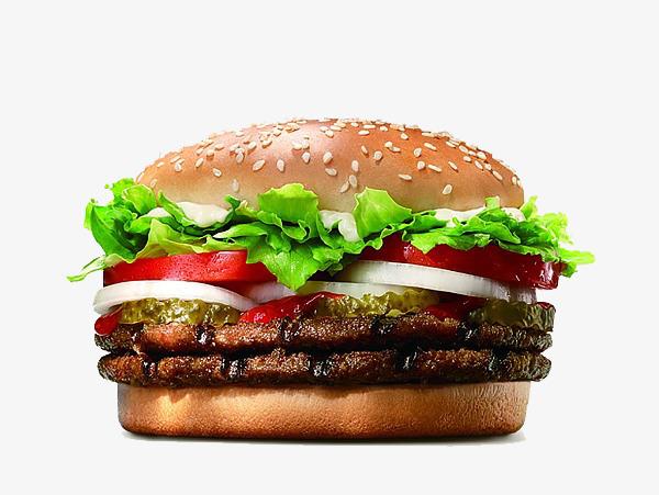 Бургер двойной