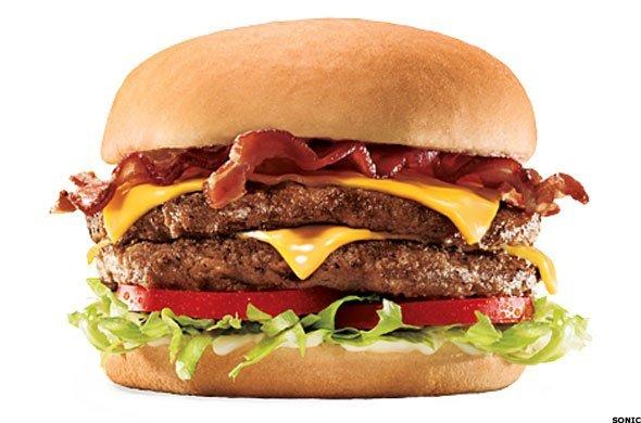 Double бургер