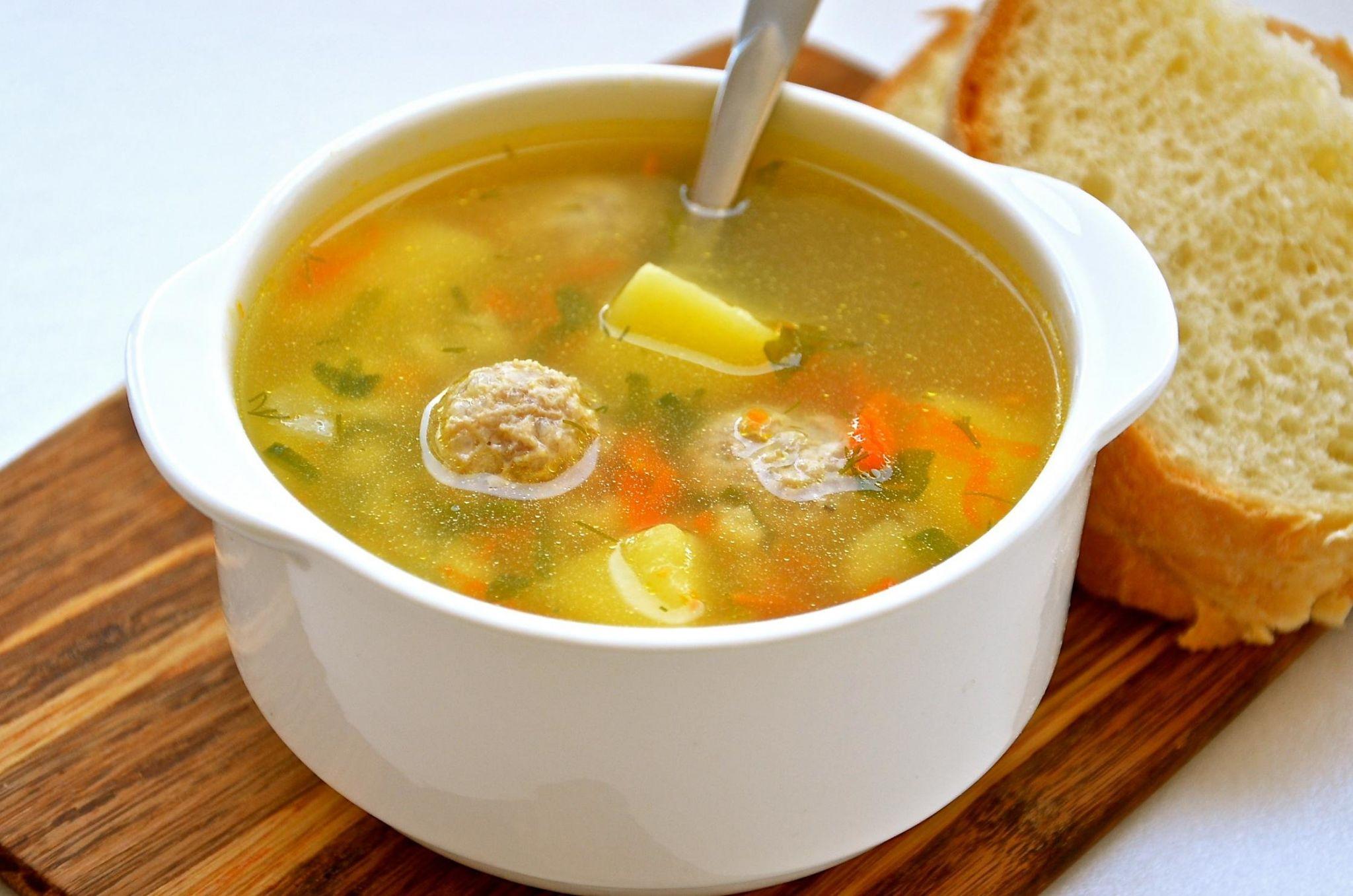 Суп с фрикадельками (250 гр.)