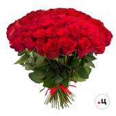 Букет 101 роза премиум