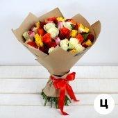 Букет 31 роза Кения